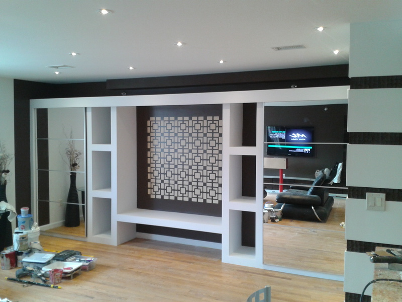 Elfralie design high quality interior painting in new york for Closet de concreto para cuartos